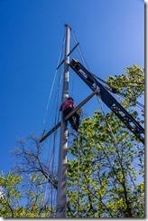 Preparing the Mast