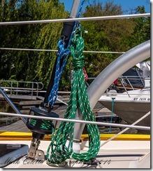 Staysail Ropes